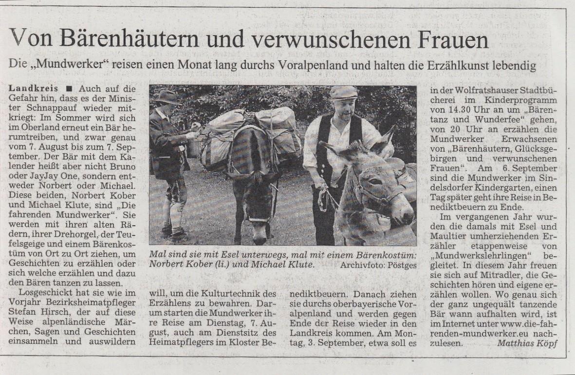 Süddeutsche Zeitung - 17.07.2007