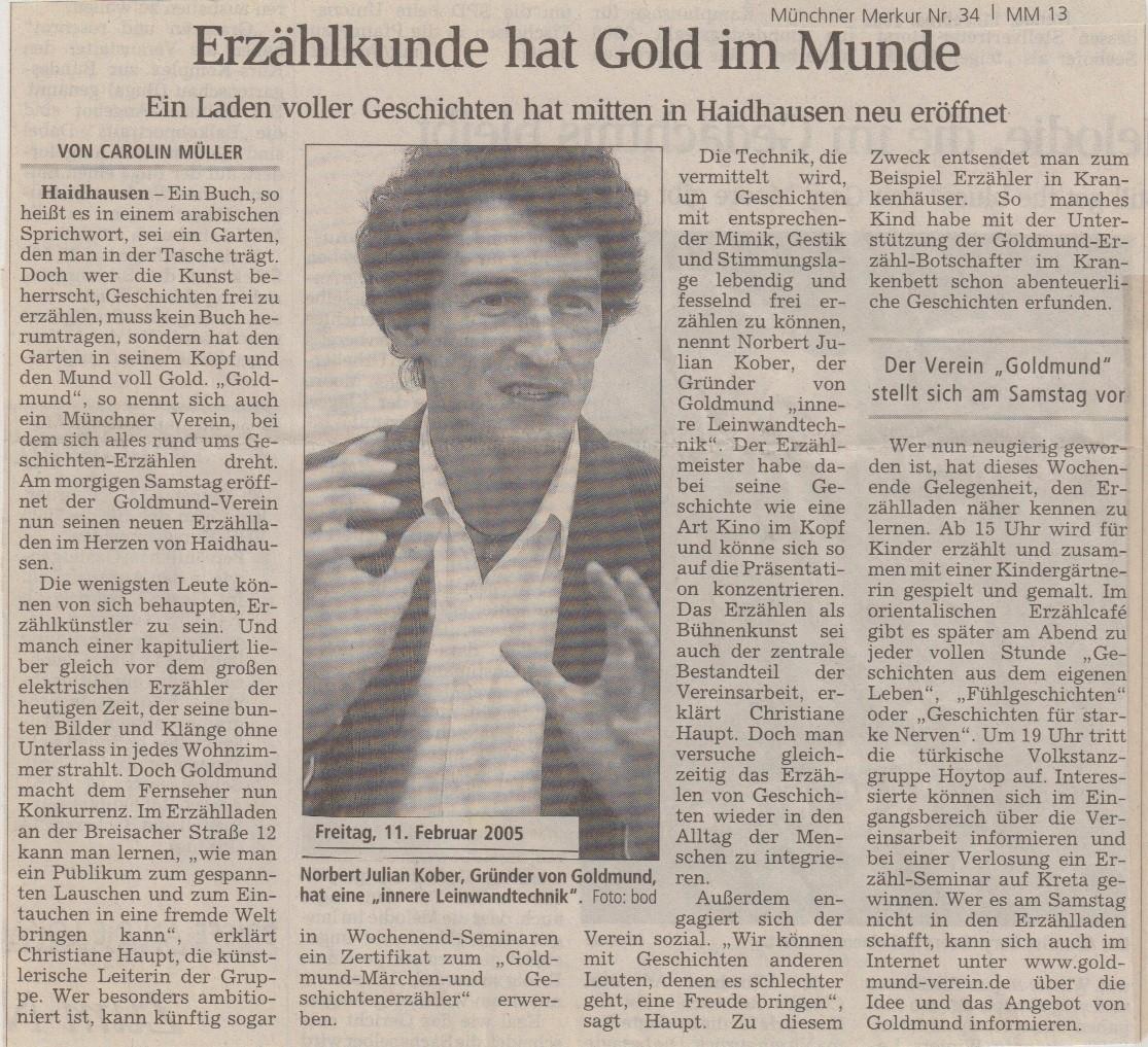 Münchener Merkur - 11.02.2005