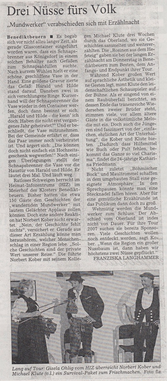 Süddeutsche Zeitung - 16.09.2006