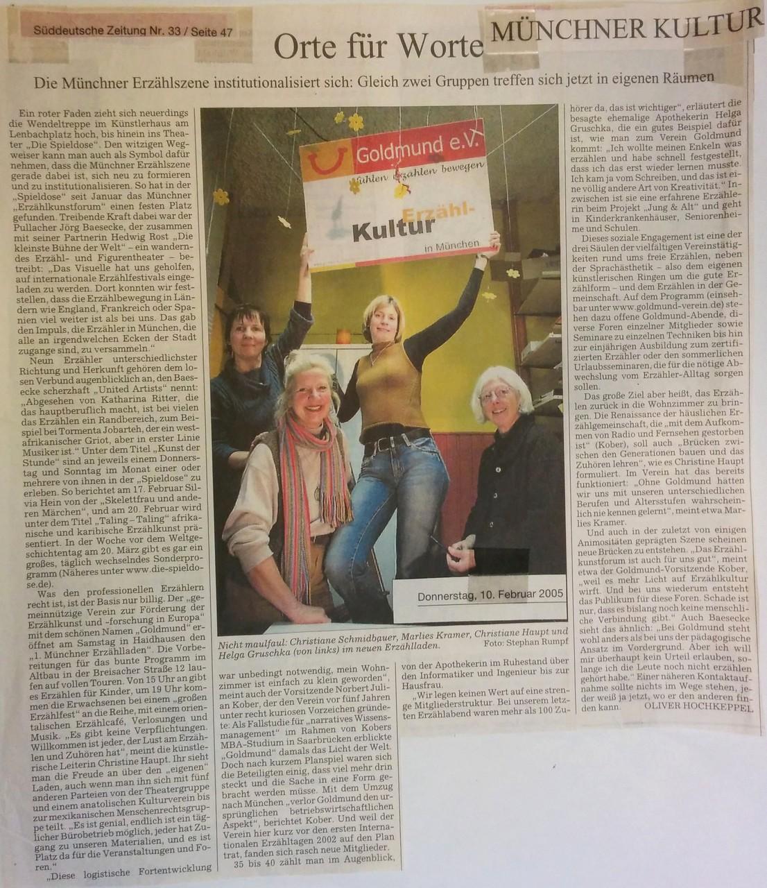 Süddeutsche Zeitung - 10.02.2005
