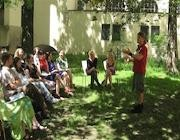 Storytelling in the gardens