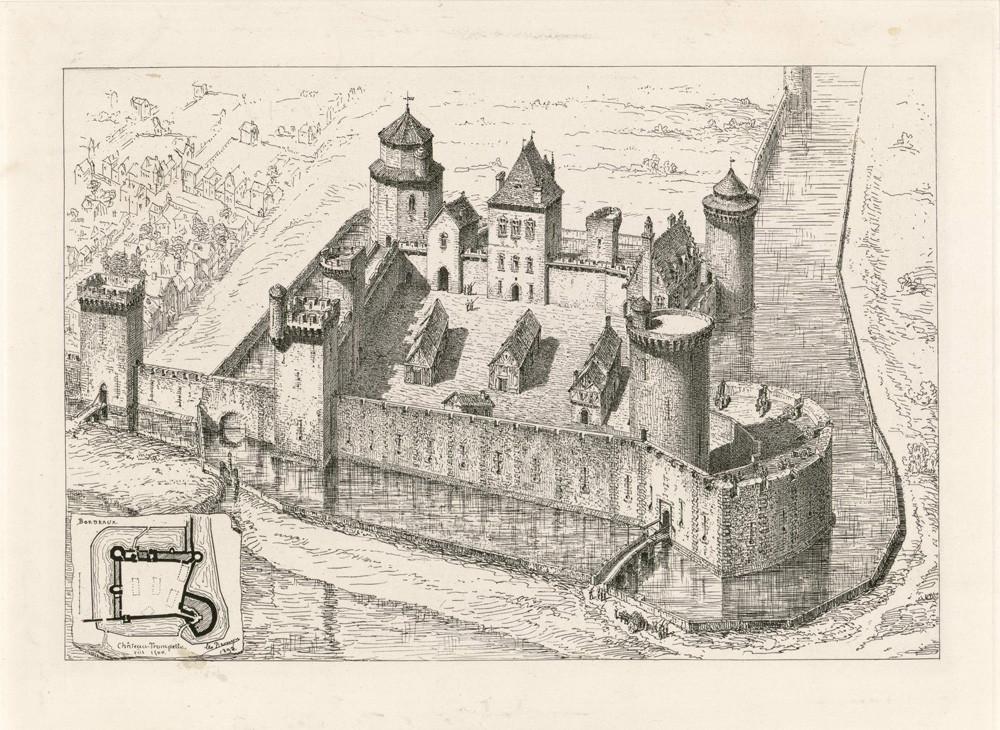 Château Trompette 17 век (par Léo Drouyn)
