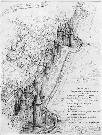 Крепостные стены XIII века