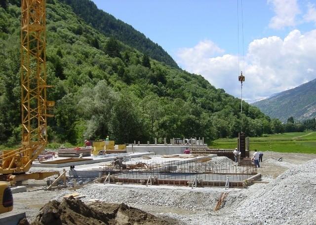 Aufbau im Jahr 2002
