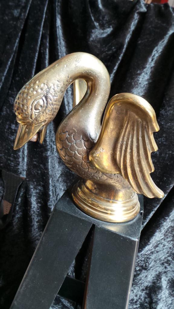 Wasserspender für Waschbecken Bronzeguss