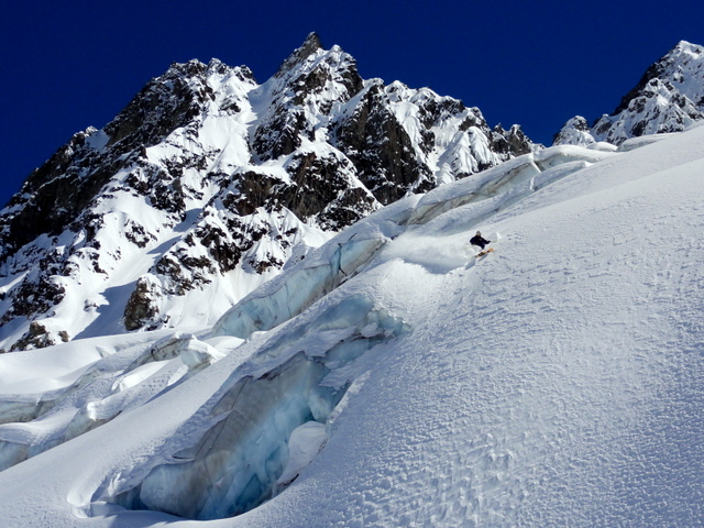 Skier: Christian Reichenberger / Photo: Stefan Joller / Location: Puma Lodge, Chile