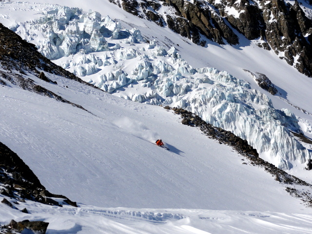 Skier: Marc Hartinger / Photo: Stefan Joller / Location: Puma Lodge, Chile