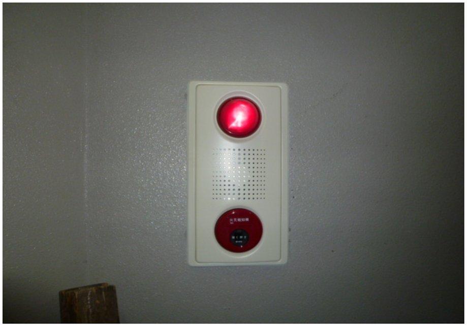総合盤(ベル・ランプ・発信器)点検状況