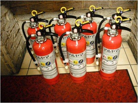 消防設備 消火器点検