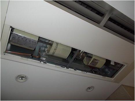 空調室内機新ファンモーター交換後