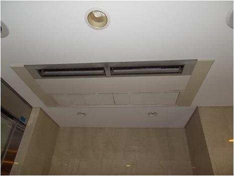 空調室内機ファンモーター交換作業前