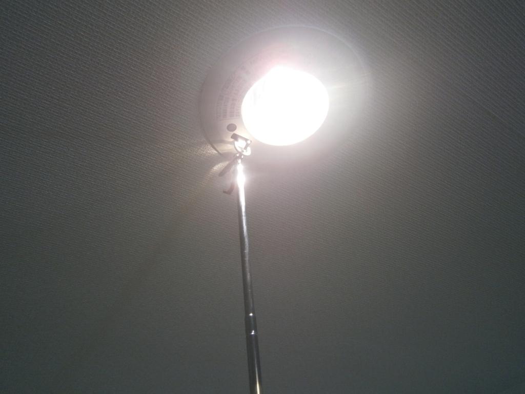 建築設備定期検査非常照明点灯試験