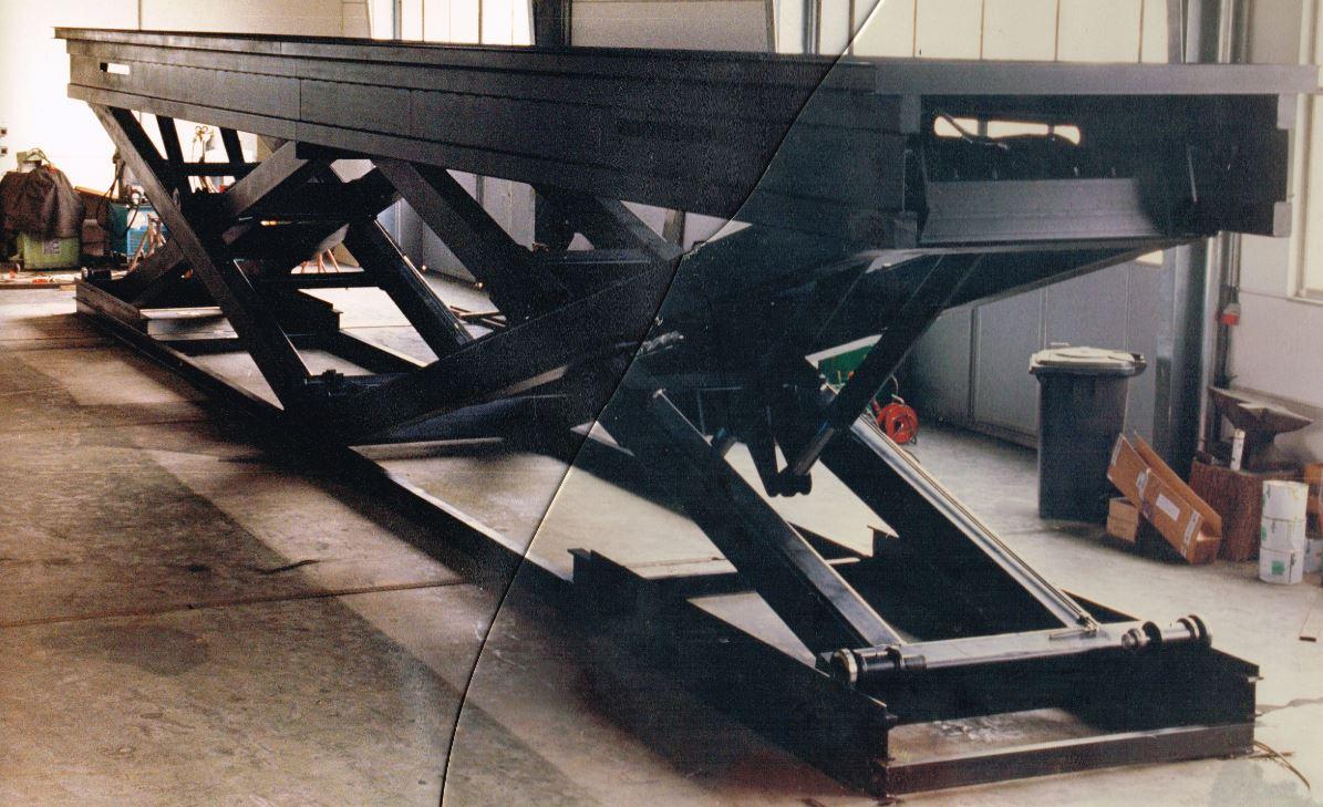 40 Tonnen Hubkraft