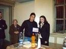 premio goccia d'oro a Franco Accetta (ritira il filgio)