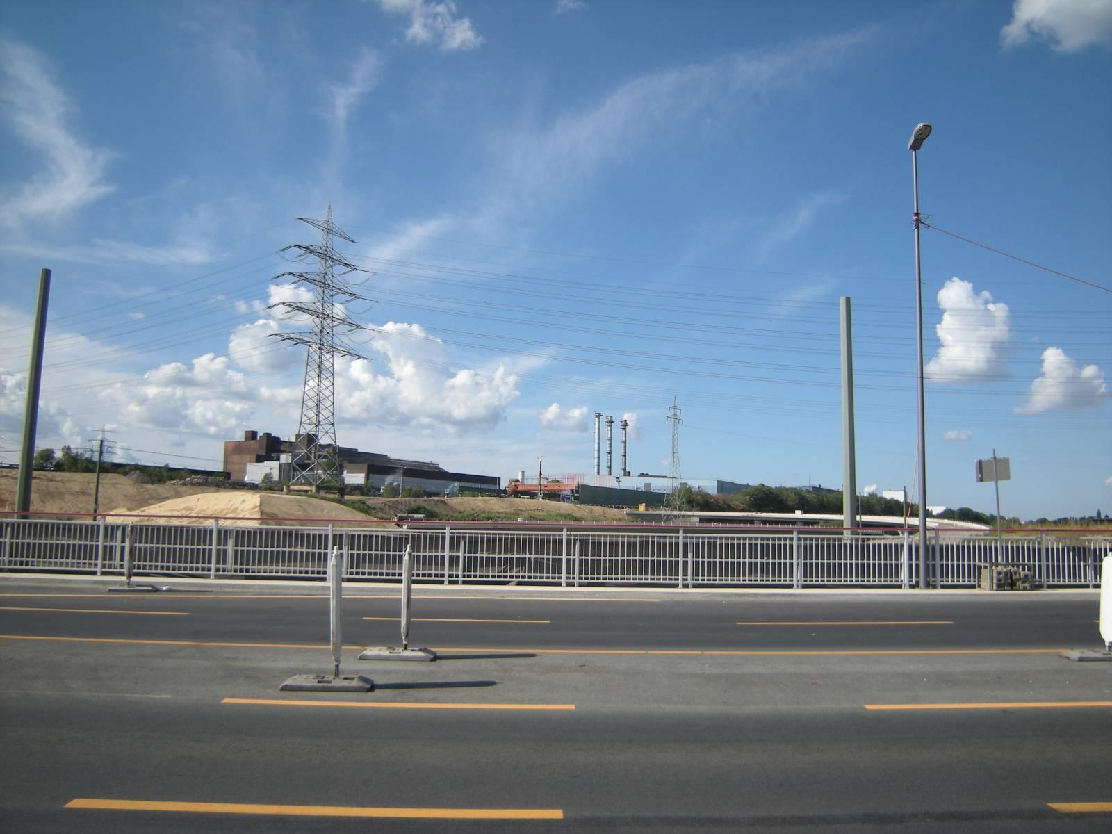 das neue Autobahnkreuz in Bochum