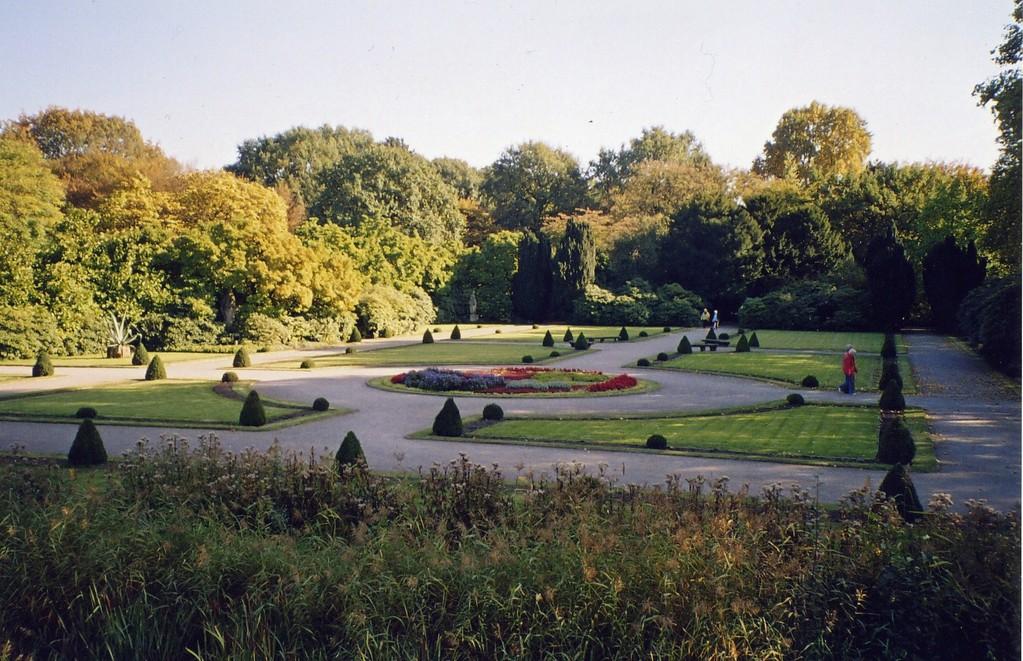 Barockgarten am Schloß Berge