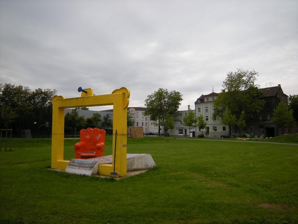 Orangeplatz in Bulmke