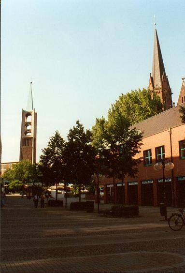 Ev. Altstadtkirche und Augustinuskirche