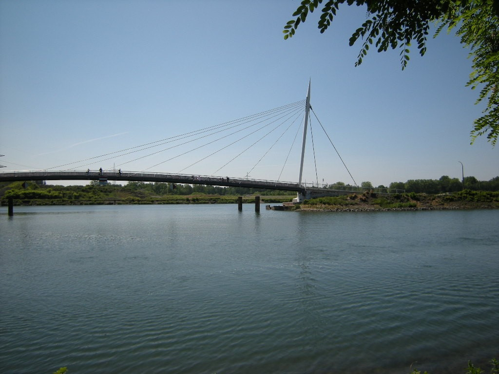Hafenbrücke am Bismarckquartier