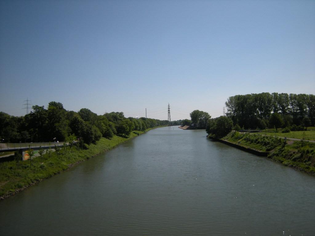 Der Kanal Richtung Osten