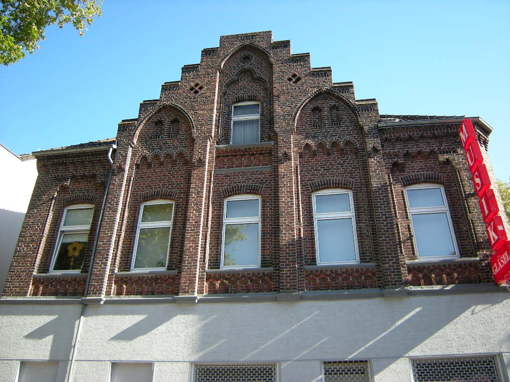 Backsteinfassade Gildenstraße