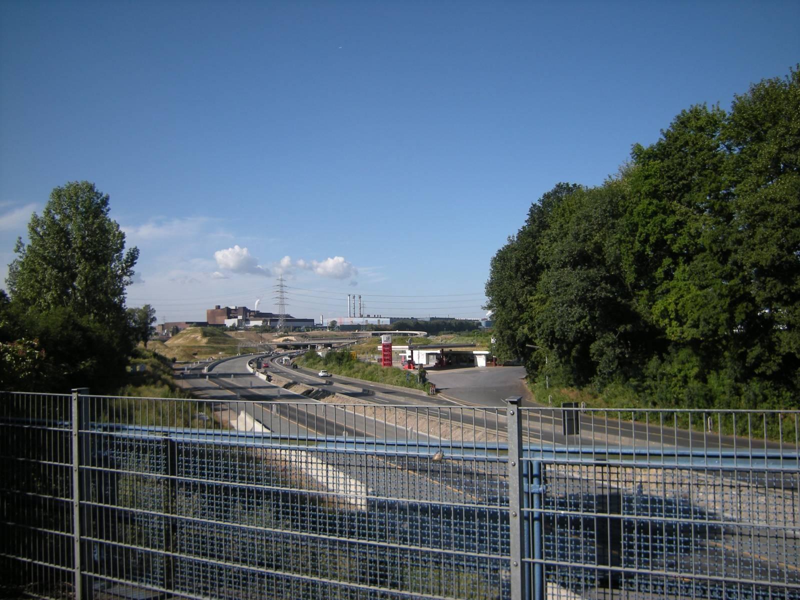 Blick auf Thyssen-Krupp
