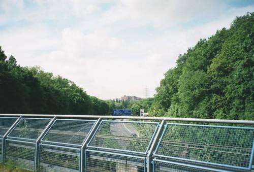 Die A40 bei Bochum / Stahlhausen