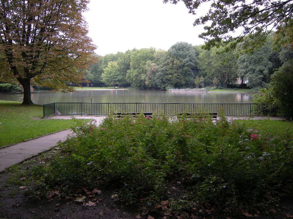 Bulmker Park mit See