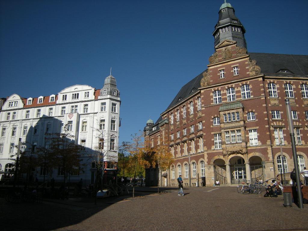 Alte Post, jetzt Arbeitsgericht