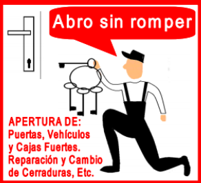 Cerrajeros Tenerife - Apertura de puertas sin romper