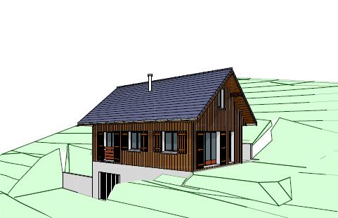 Construction Maison individuelle à Saint Pierre de Chartreuse