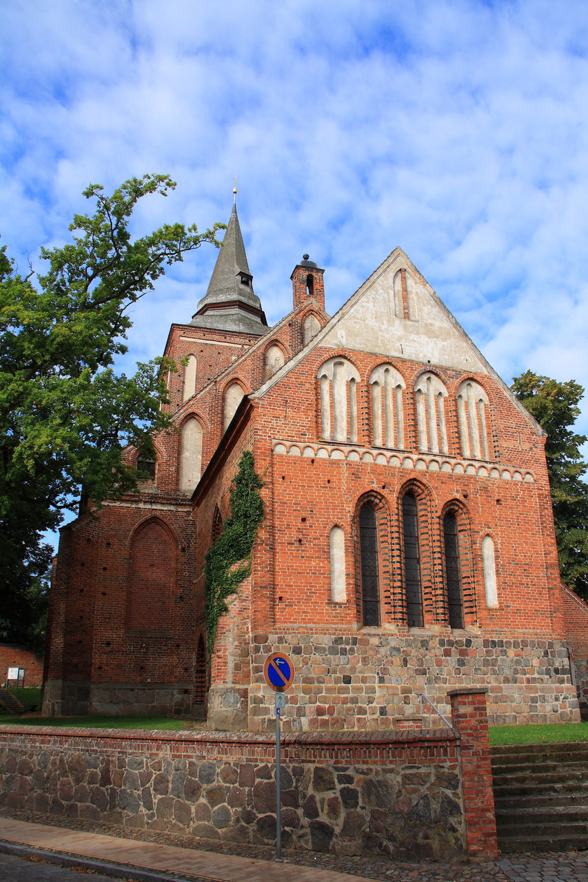 Lassan, evangelische Kirche