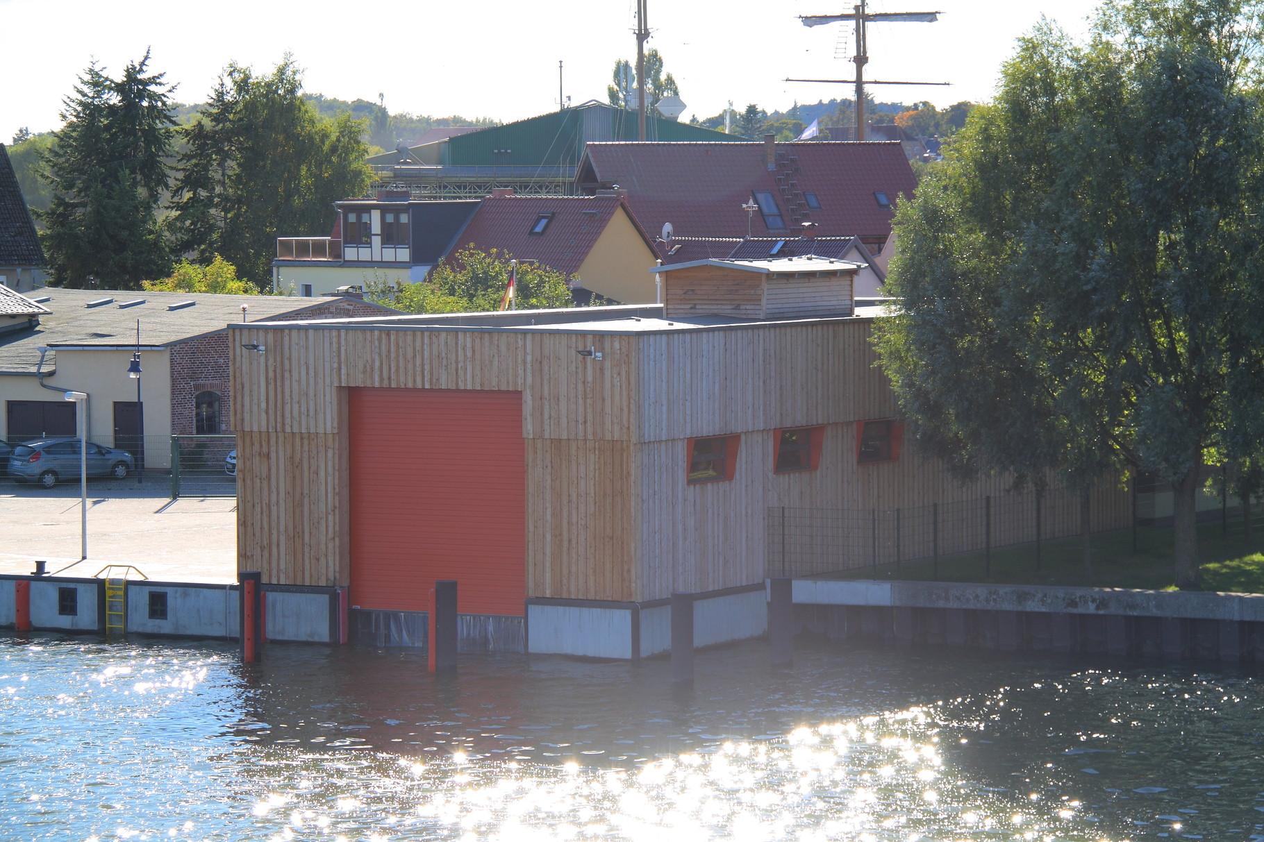 Wolgast, Bootshaus Wasserschutzpolizei