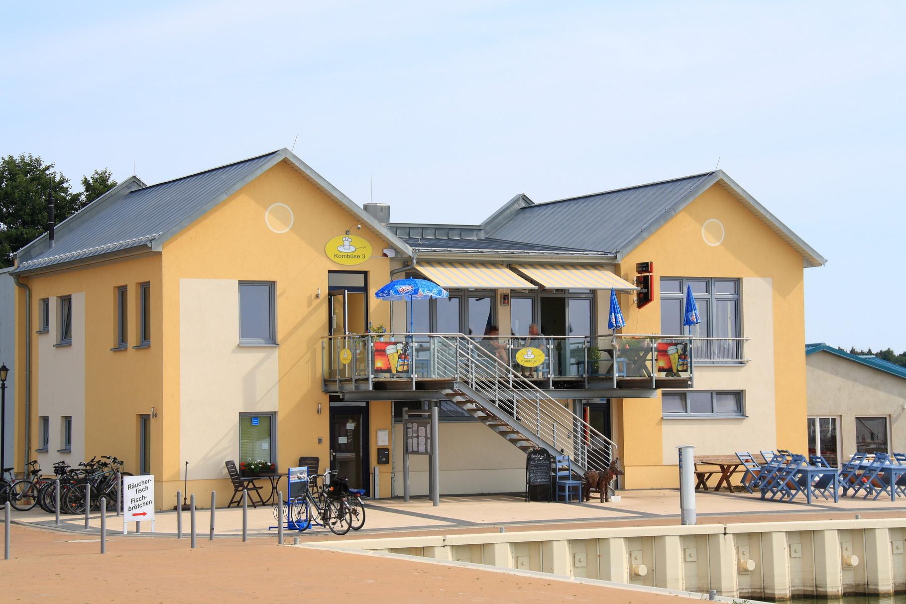 Ostseebad Zinnowitz, Multifunktionsgebäude Wasserwanderrastplatz