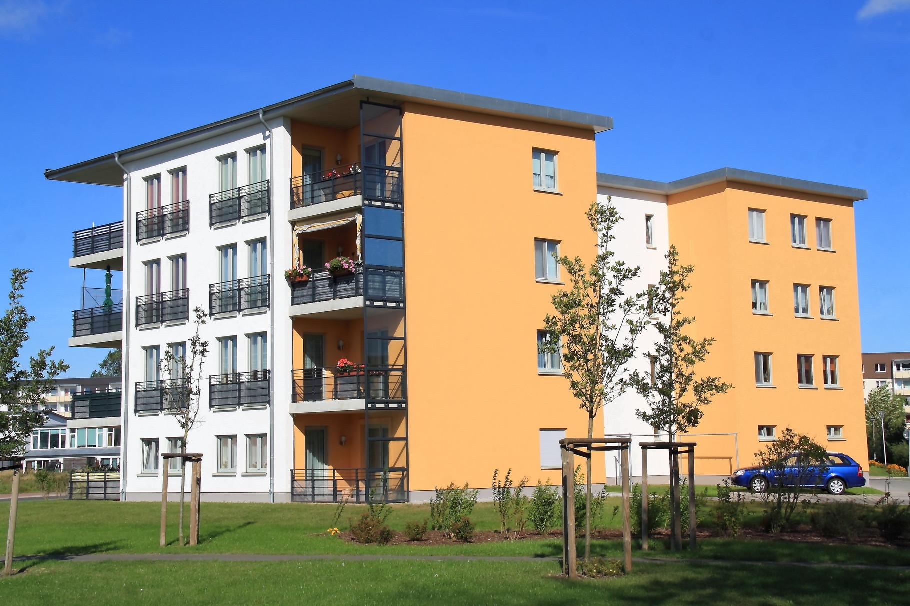 Greifswald, Wohngebäude Einsteinstraße 21