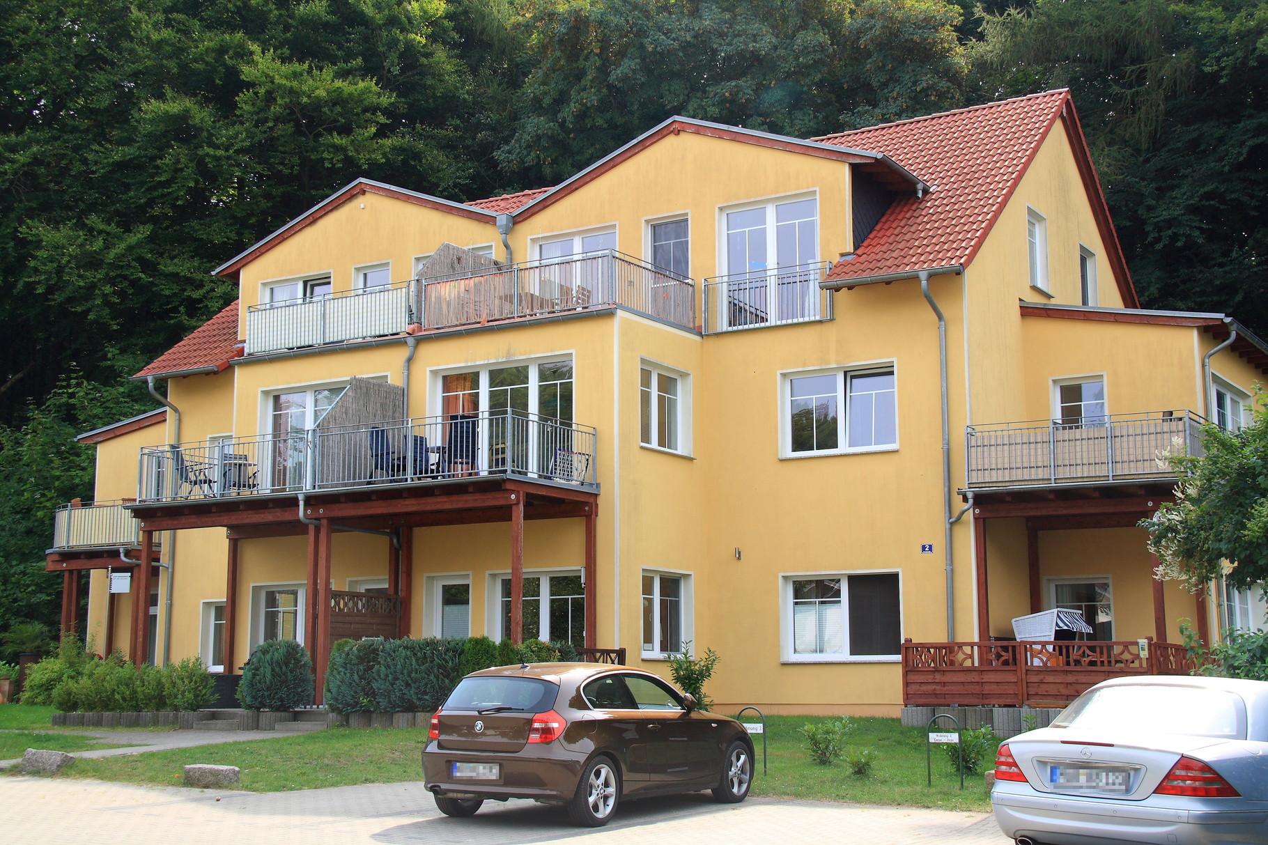 Ostseebad Zinnowitz, Mehrfamilienhaus Frankstraße