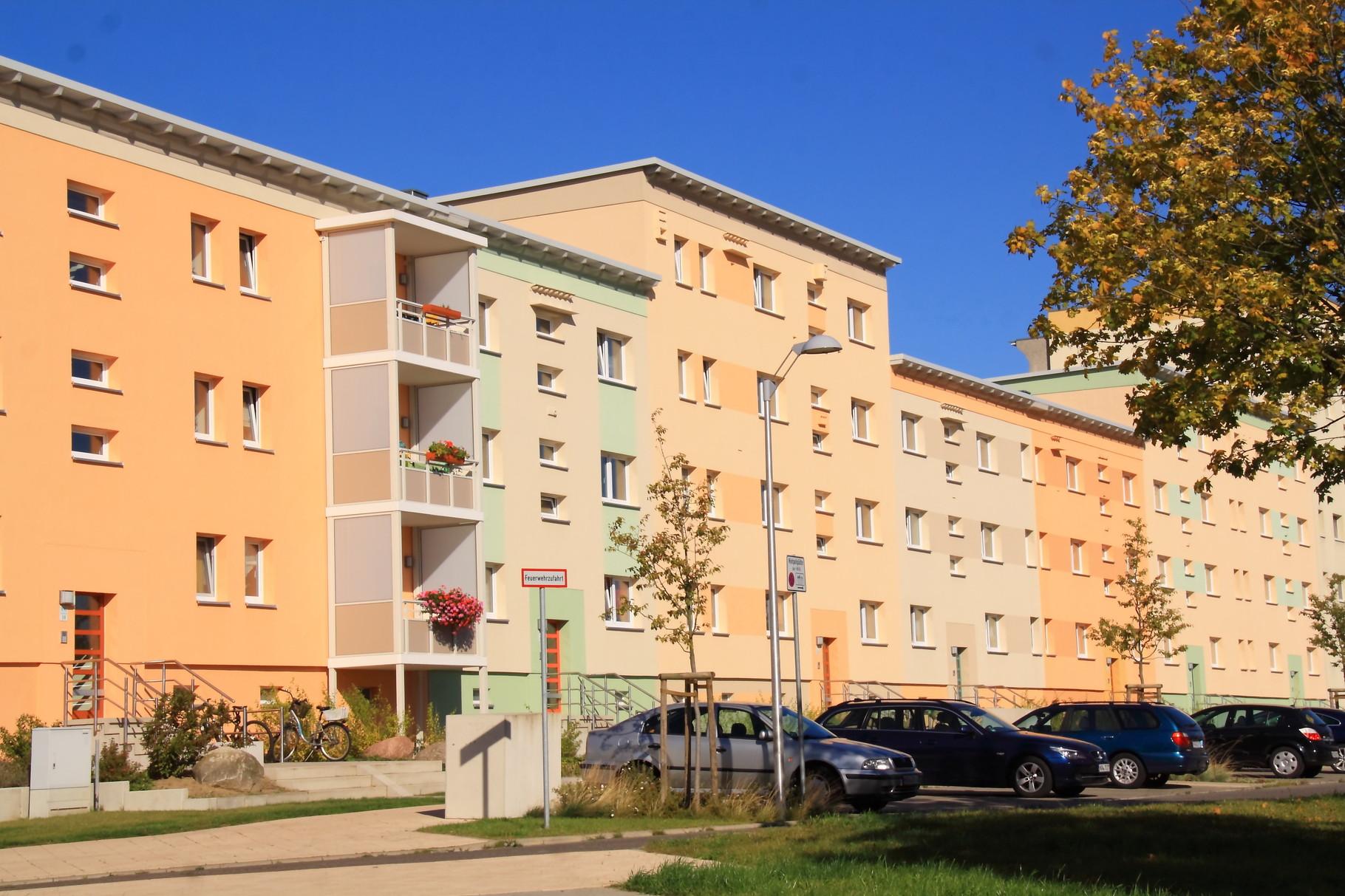Greifswald, Wohngebäude Helsinkiring 11-13