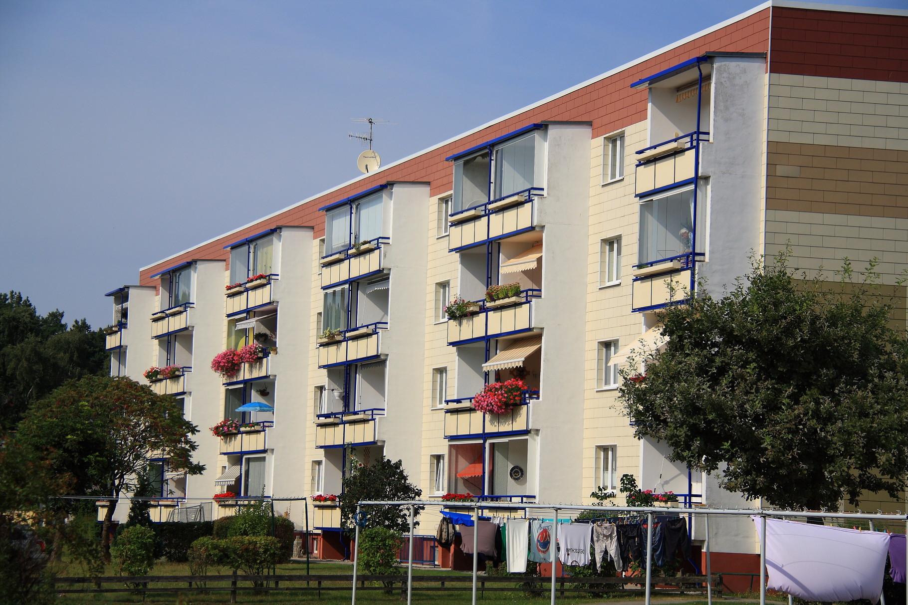 Ostseebad Karlshagen, Wohngebäude Straße der Freundschaft 26-30