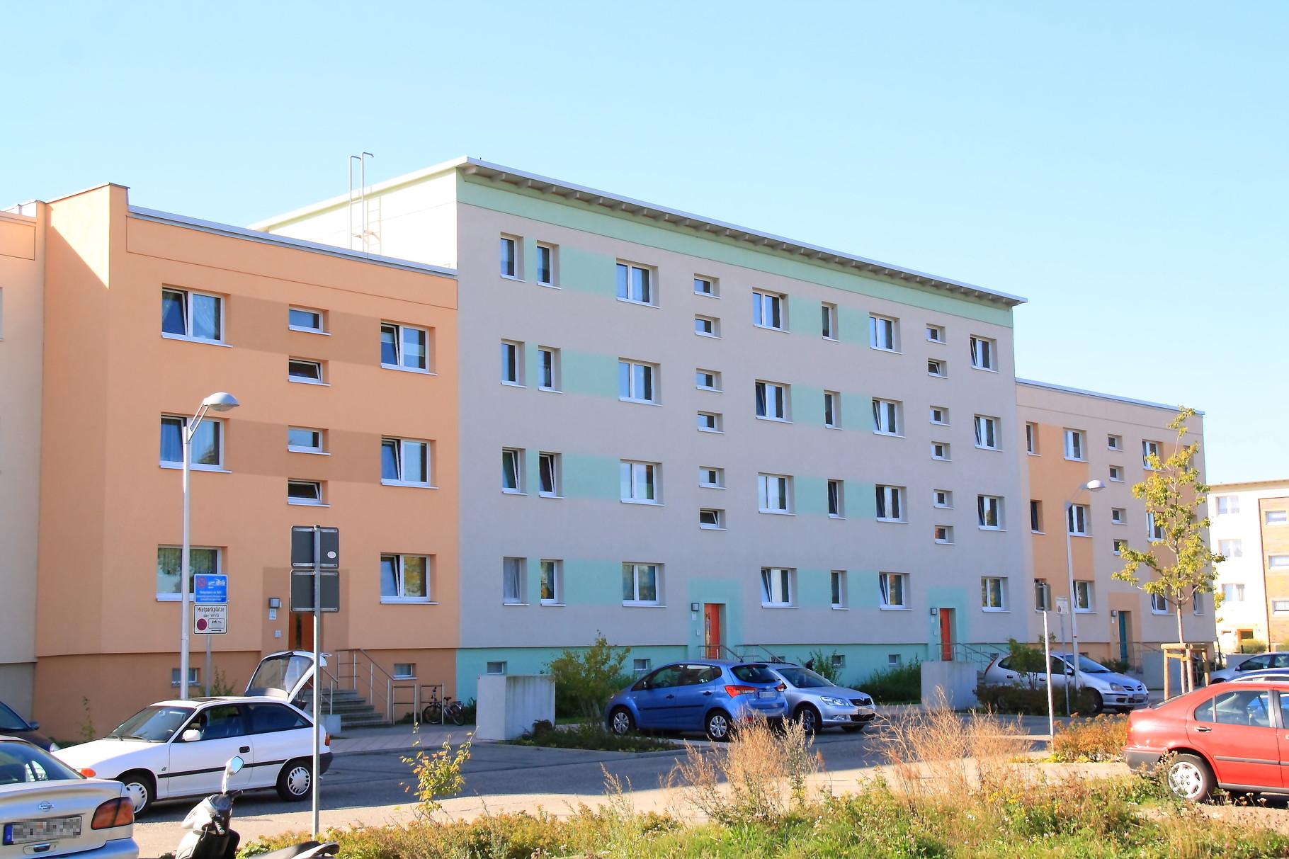 Greifswald, Wohngebäude Helsinkiring 18-19