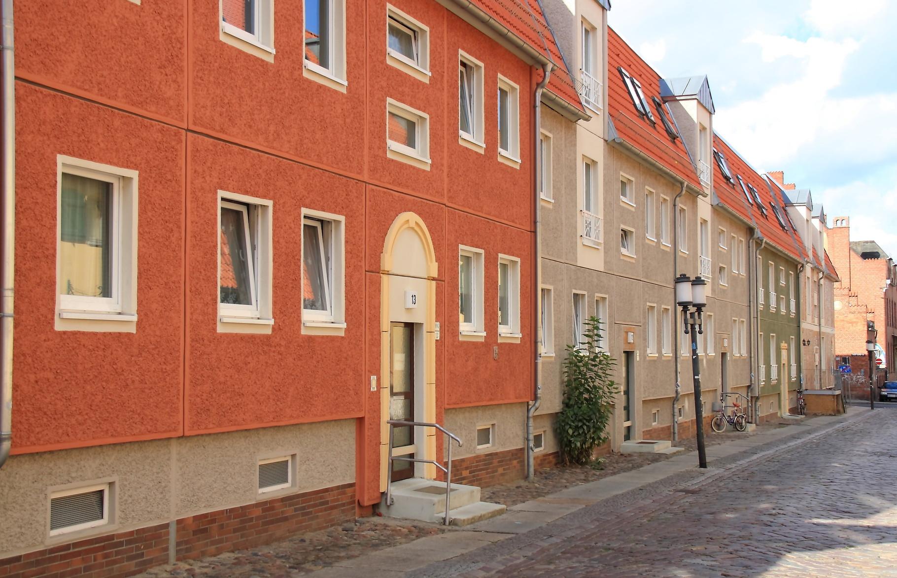 Greifswald, Wohngebäude Hunnenstraße 9-13