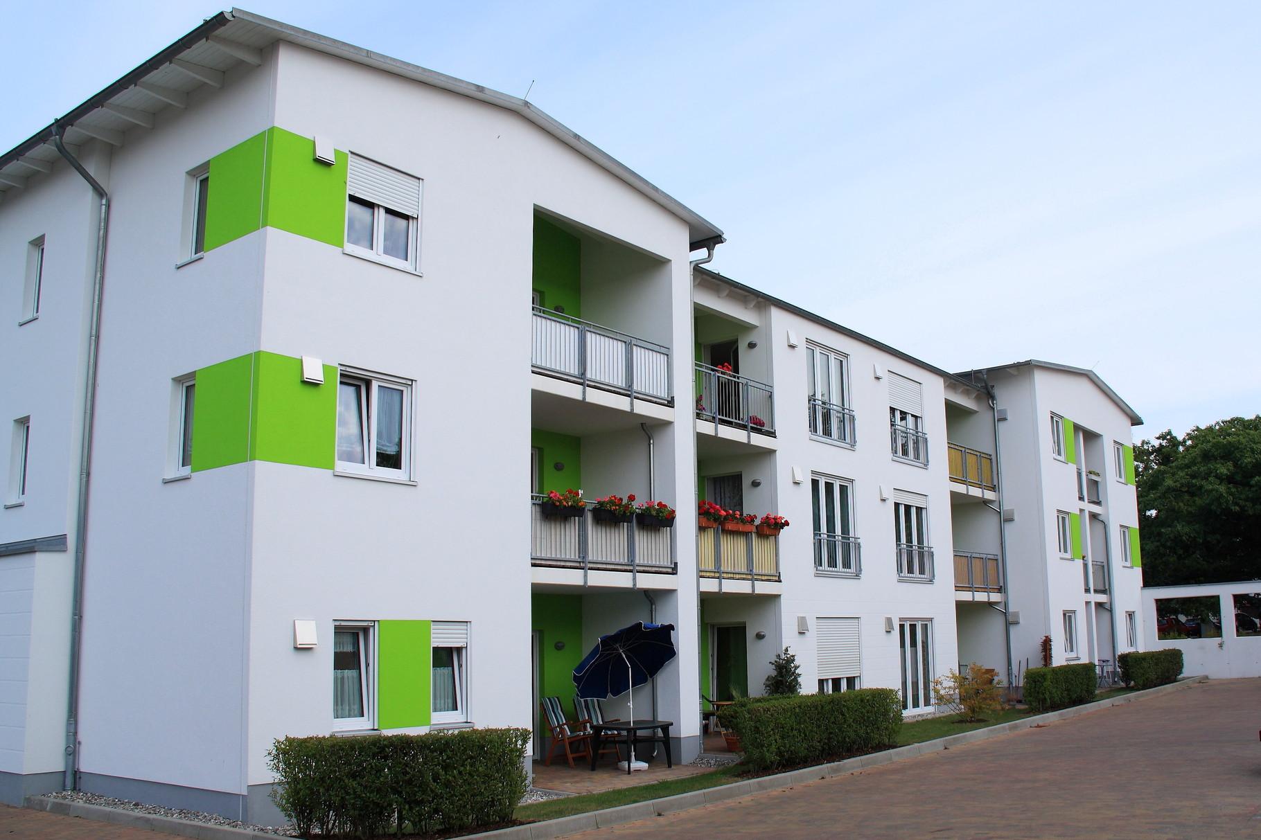 Seebad Ahlbeck, Mehrfamilienhaus Friedrich-Schiller-Straße
