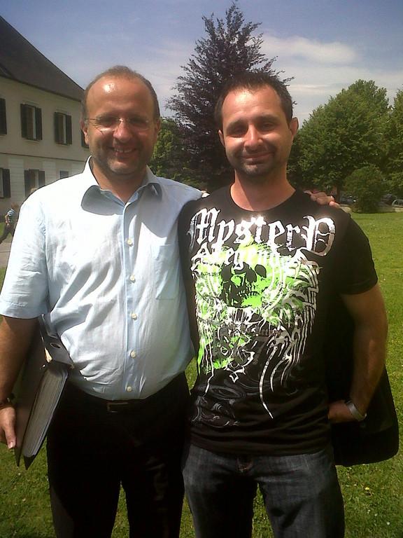Klapschi und Thomas am 03. Juni 2012