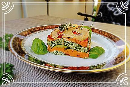 Gemüse- Lasagne Raw