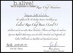 b.alive Raw Chef Basic