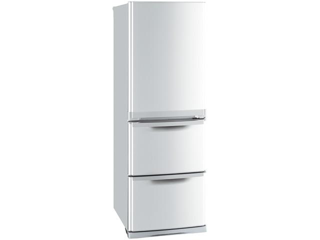 三菱 冷蔵庫 MR-CL38P-S
