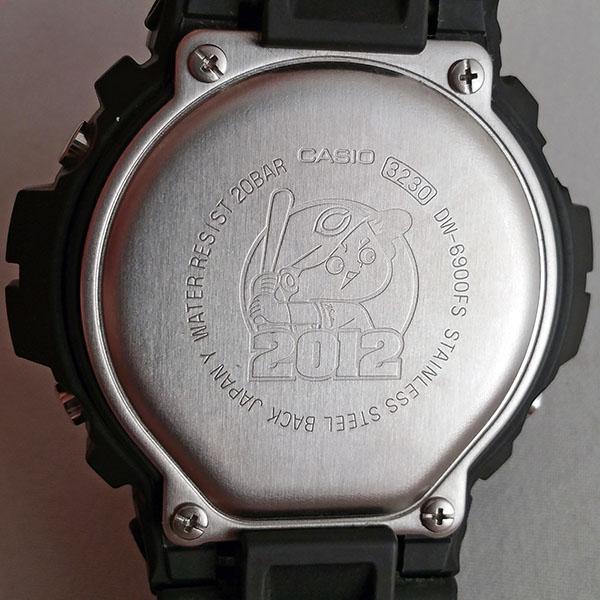 広島カープ Gショック DW-6900FS 2012年モデル
