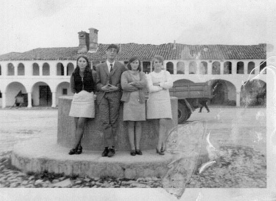 En Garrovillas. Años 60. P. Privada.