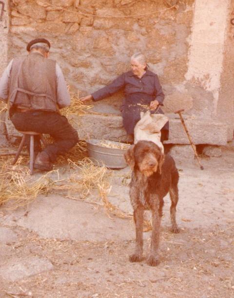 Abuelos: Pedro y Genara.