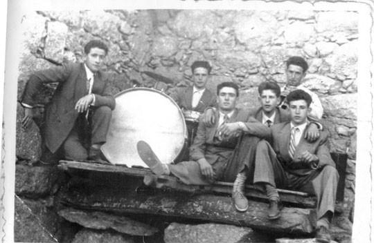 Mocitos de la Puebla, años 50. P. Privada.