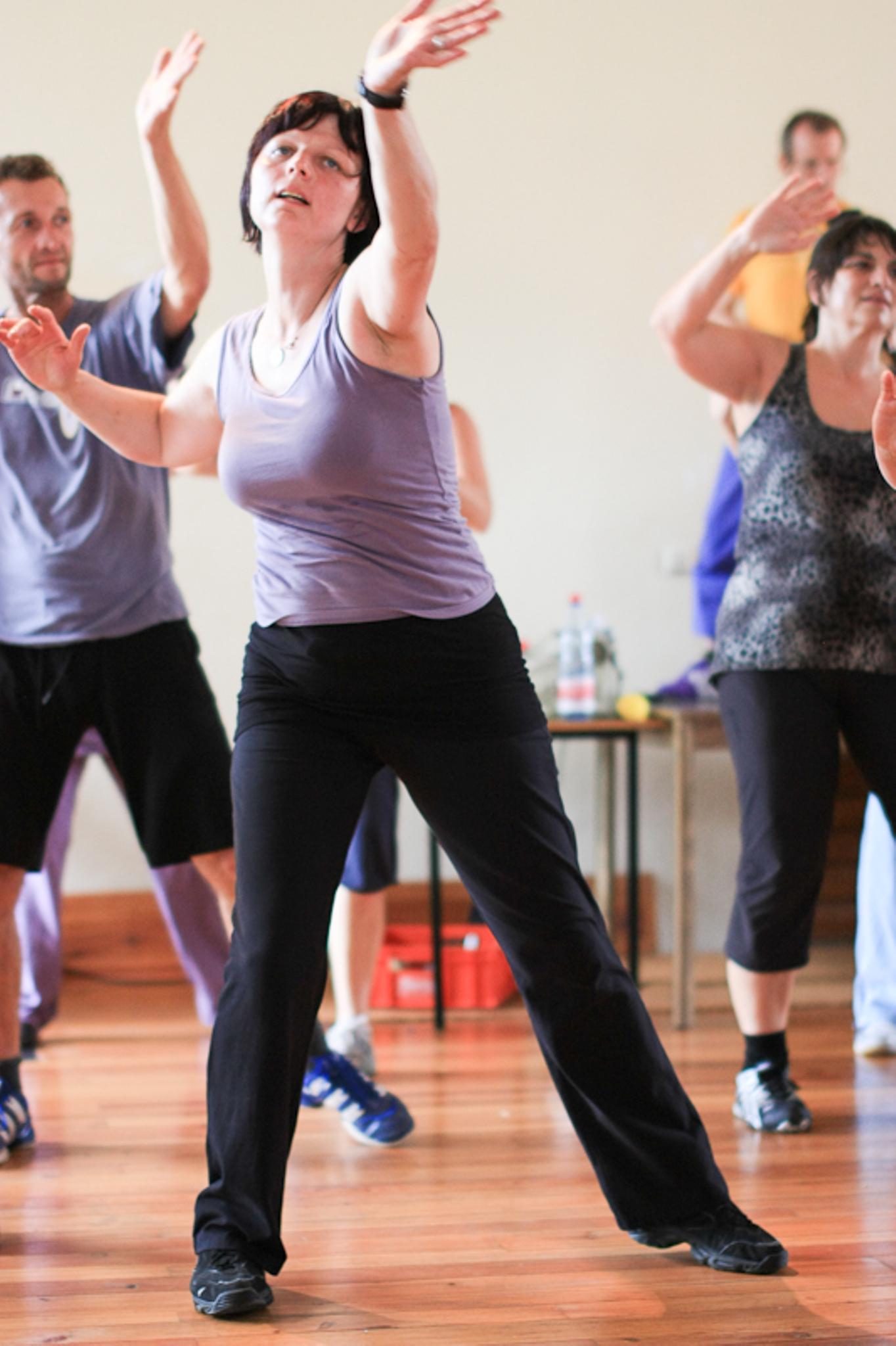 Schwitzen Tanzen, Aerobic, Fitness und noch mehr Energy Dance Festival